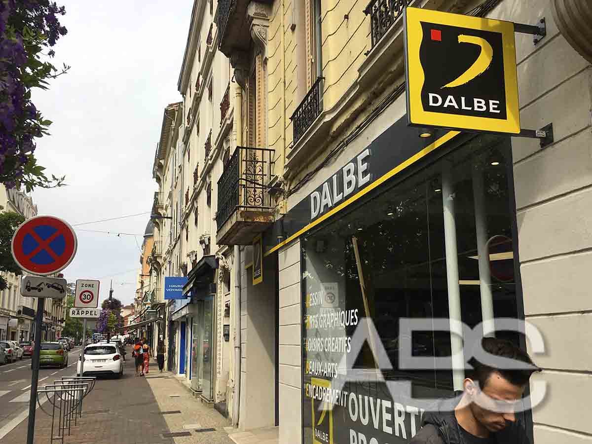 abs communication enseigne roanne dalbe